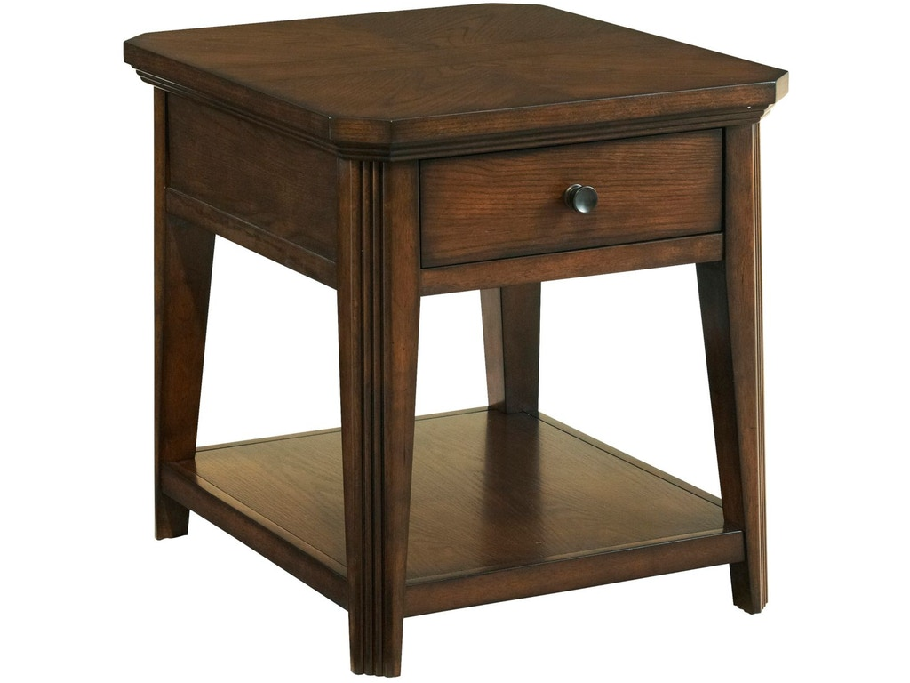 Broyhill Living Room Estes Park Drawer End Table 4364 002