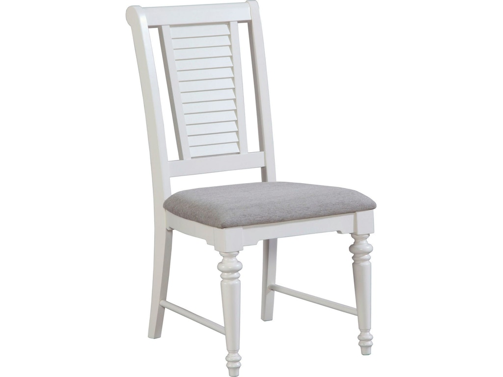 Broyhill dining room seabrooke side chair 4471 581 for Dining room johnson city tn