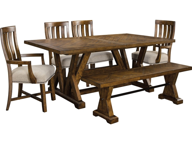 Broyhill dining room pieceworks rectangular dining table 4546 541 broyhill pieceworks rectangular dining table 4546 541 workwithnaturefo