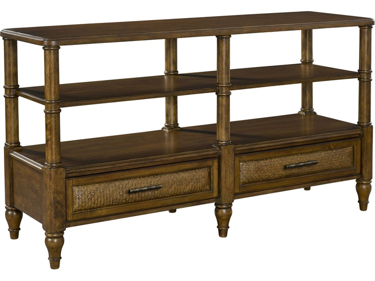 Broyhill Living Room Amalie Bay Sofa Console Table 4548 009 Simply Discount Furniture Santa