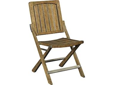 Broyhill New VintageTM Cafe Wood Slat Chair Vintage White 4807 583