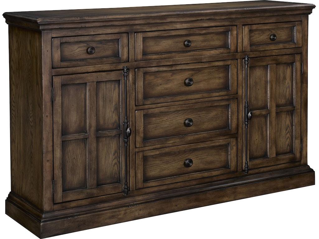 Broyhill Bedroom Pike Place Grand Dresser 4850 232 Quality Furniture Murfreesboro Tn