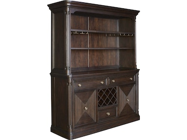 Broyhill Jessa™ Server and Hutch 4980 SERVER/HUTCH