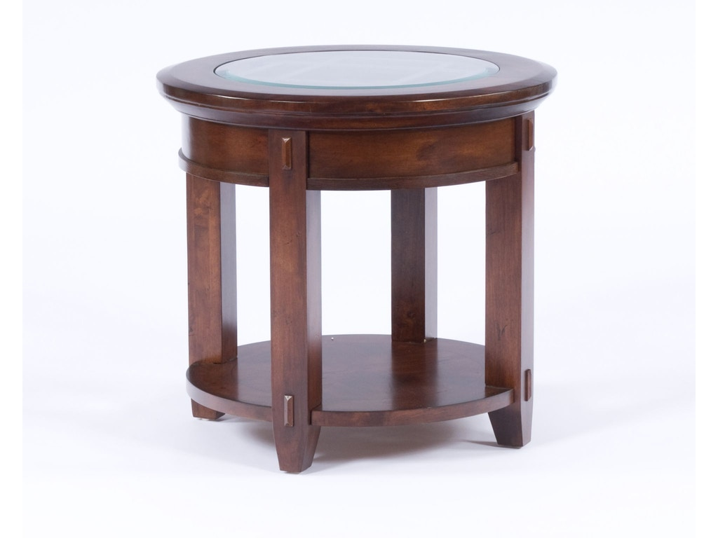 Broyhill Living Room Vantana Round End Table 4986 000 Indian River Furniture Rockledge Fl