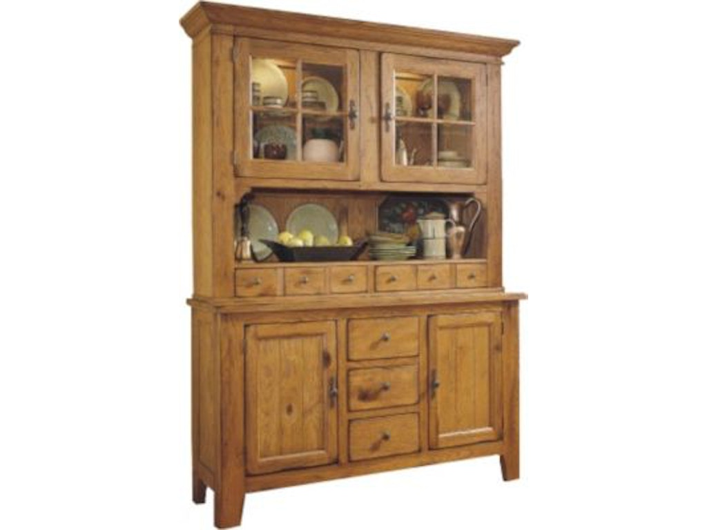 Broyhill Dining Room Attic Heirlooms China Hutch and Base 5397 ...