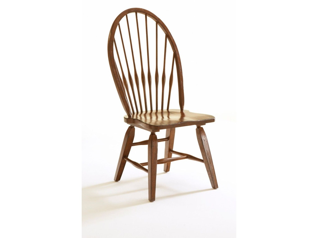 Broyhill Dining Room Attic Heirlooms Side Chair Rustic Oak 5399 85 Indian
