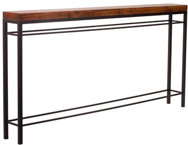 Charleston Forge Living Room Newhart Console 5411 Aaron s Fine Furniture Altamonte