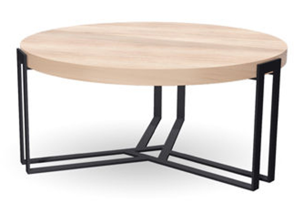 Charleston forge living room watson round cocktail table for Cocktail tables and chairs