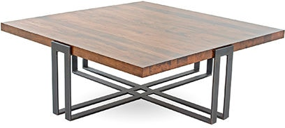 Charleston Forge 6016 Living Room Watson Square Cocktail Table