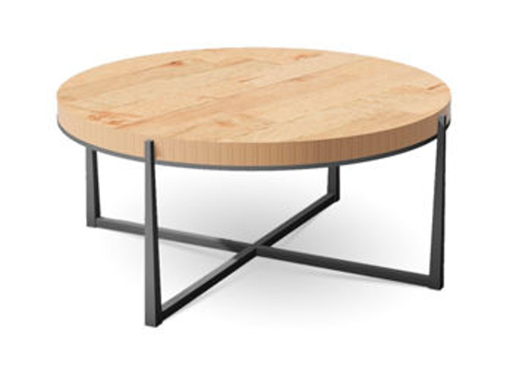 Charleston forge living room cooper round cocktail table for Charleston forge furniture
