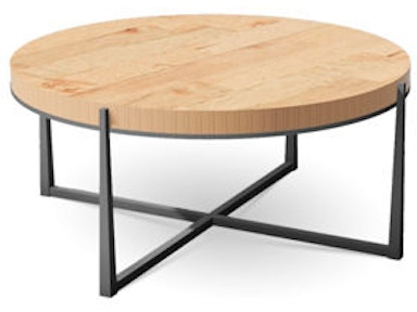 Charleston Forge 6104 Living Room Ellipse Cocktail Table