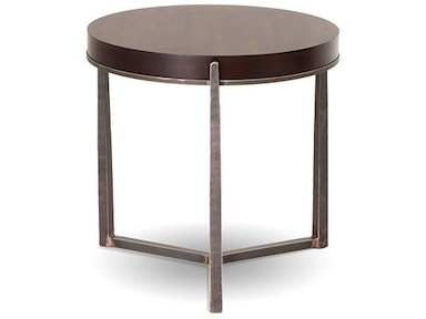 Charleston Forge Living Room Cooper Round End Table - Cooper end table