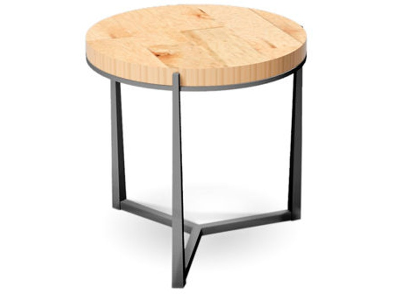 Charleston Forge Cooper Round End Table - Cooper end table