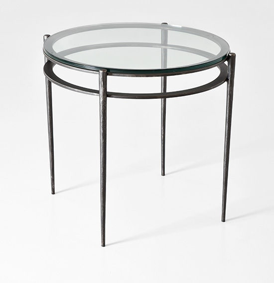 Charleston Forge Living Room Camden Round End Table 6051 Studio