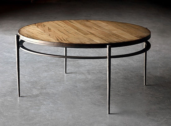 Charleston Forge Living Room Camden Round Cocktail Table 6052