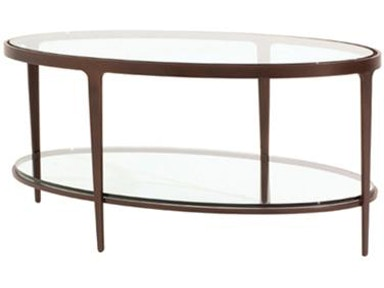 Charleston Forge Living Room Ellipse Tail Table
