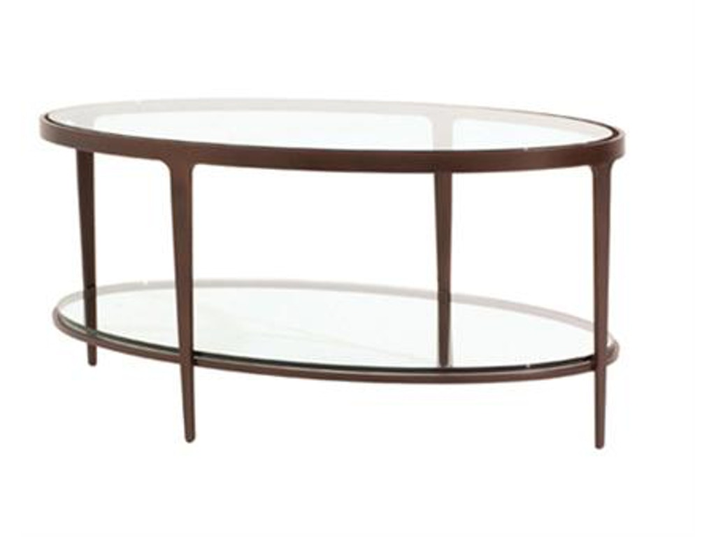 Charleston forge living room ellipse cocktail table 6104 for Cocktail tables and chairs