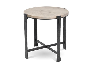 Charleston Forge Woodland Round End Table 6273