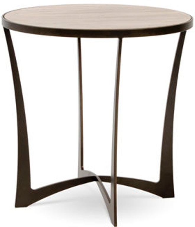 Charleston Forge Living Room Round End Table