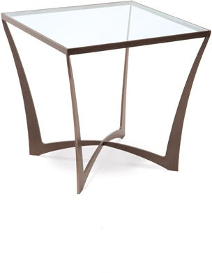 Charleston Forge 6321 Lotus Square End Table Interiors