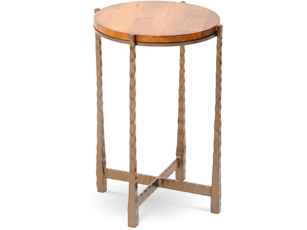 Charleston forge living room nash round drink table 7203 for Charleston forge furniture