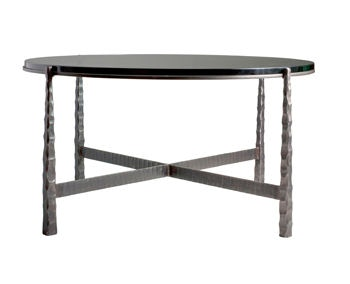 Charleston Forge Nash Large Round Cocktail Table CH7216 From Walter E.  Smithe Furniture + Design