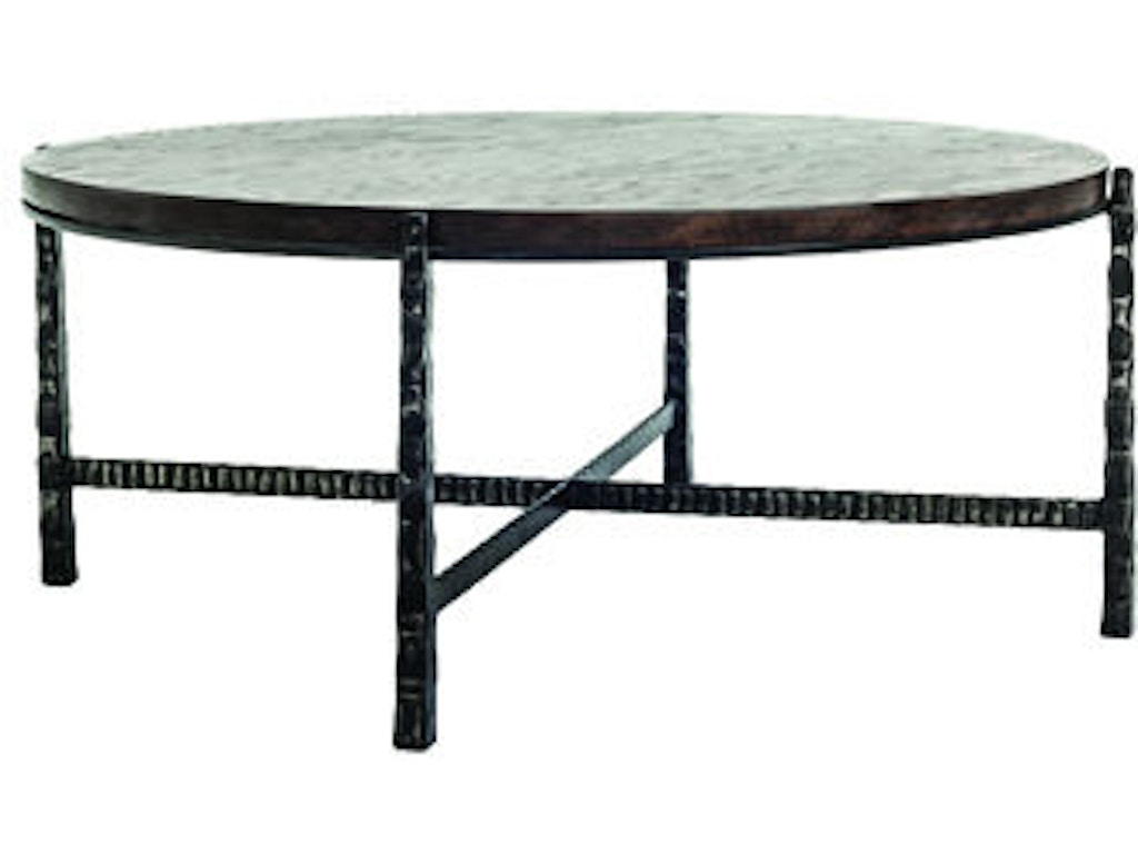 Charleston forge living room nash round cocktail table for Charleston forge furniture