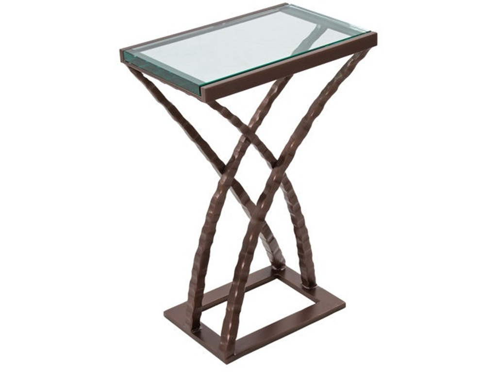 Charleston forge living room quad drink table 7414 for Charleston forge furniture