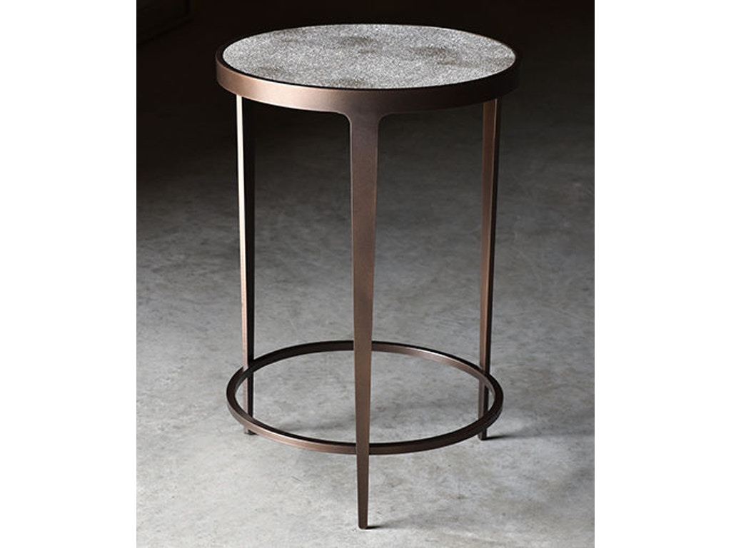 Charleston forge living room roundabout drink table 7425 charleston forge cf04 roundabout drink table with shagreen top geotapseo Images