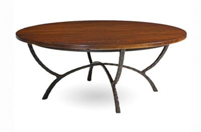 Charleston Forge Living Room Hudson Round Cocktail Table