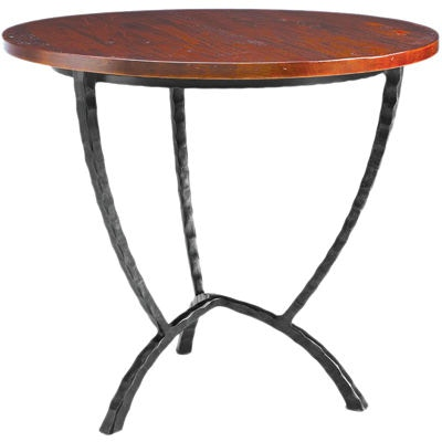Charleston Forge Living Room Hudson Round End Table 7554