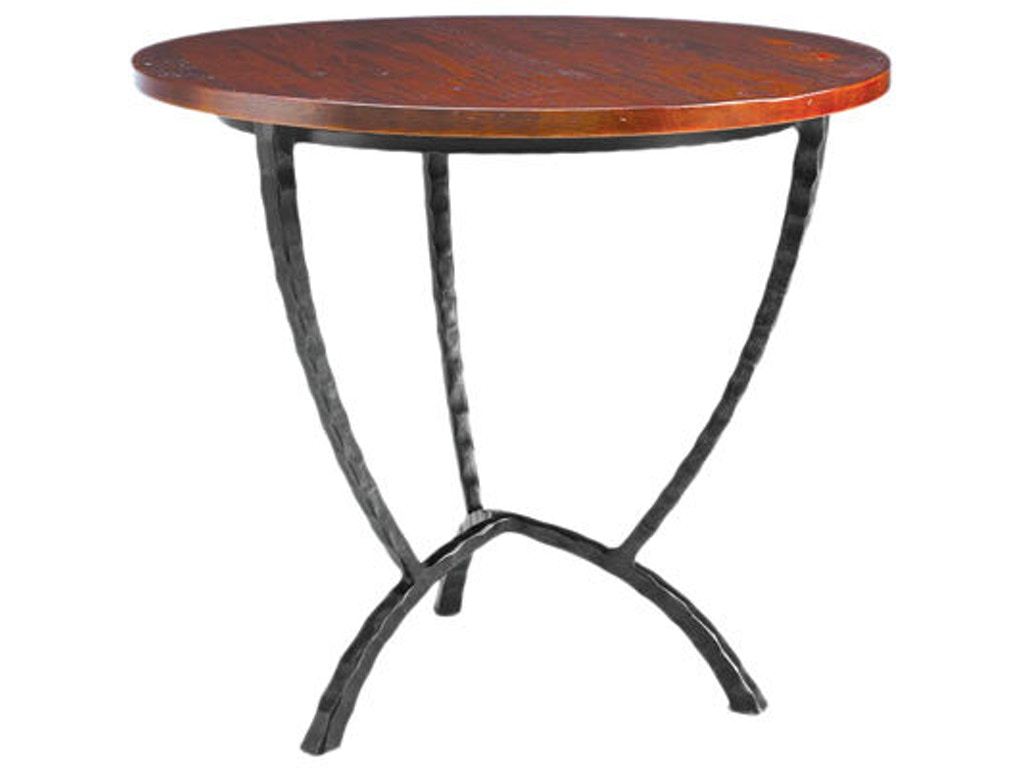 Charleston forge 7554 hudson round end table interiors camp charleston forge hudson round end table 7554 geotapseo Images