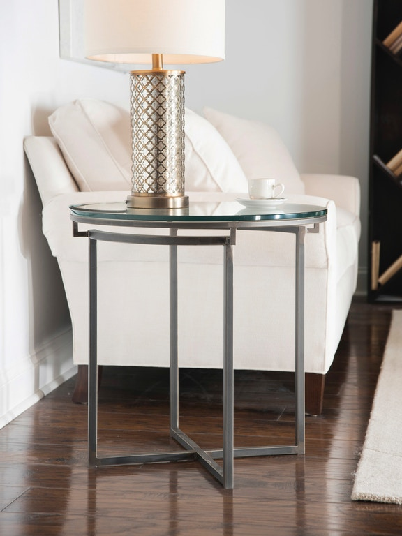 Charleston Forge Living Room Round End Table 7603 Stacy