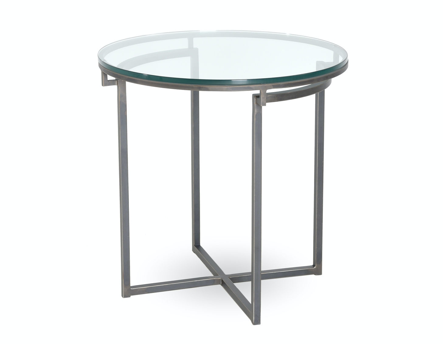 Charleston Forge Living Room Fillmore Round End Table 7603 Stacy