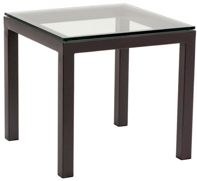 Charleston Forge Living Room Parsons End Table 9085