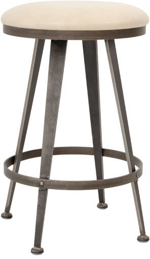 Charleston Forge Bar And Game Room Aires Backless Swivel