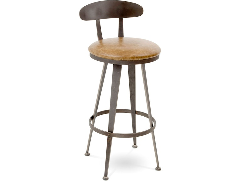Wondrous Charleston Forge Bar And Game Room Aries Swivel Bar Stool Caraccident5 Cool Chair Designs And Ideas Caraccident5Info