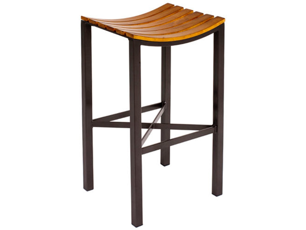 Charleston Forge C981 Bar And Game Room Parsons Wood Seat