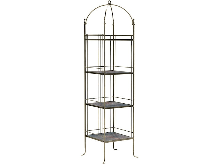 Charleston Forge Living Room Etagere H423 High Country