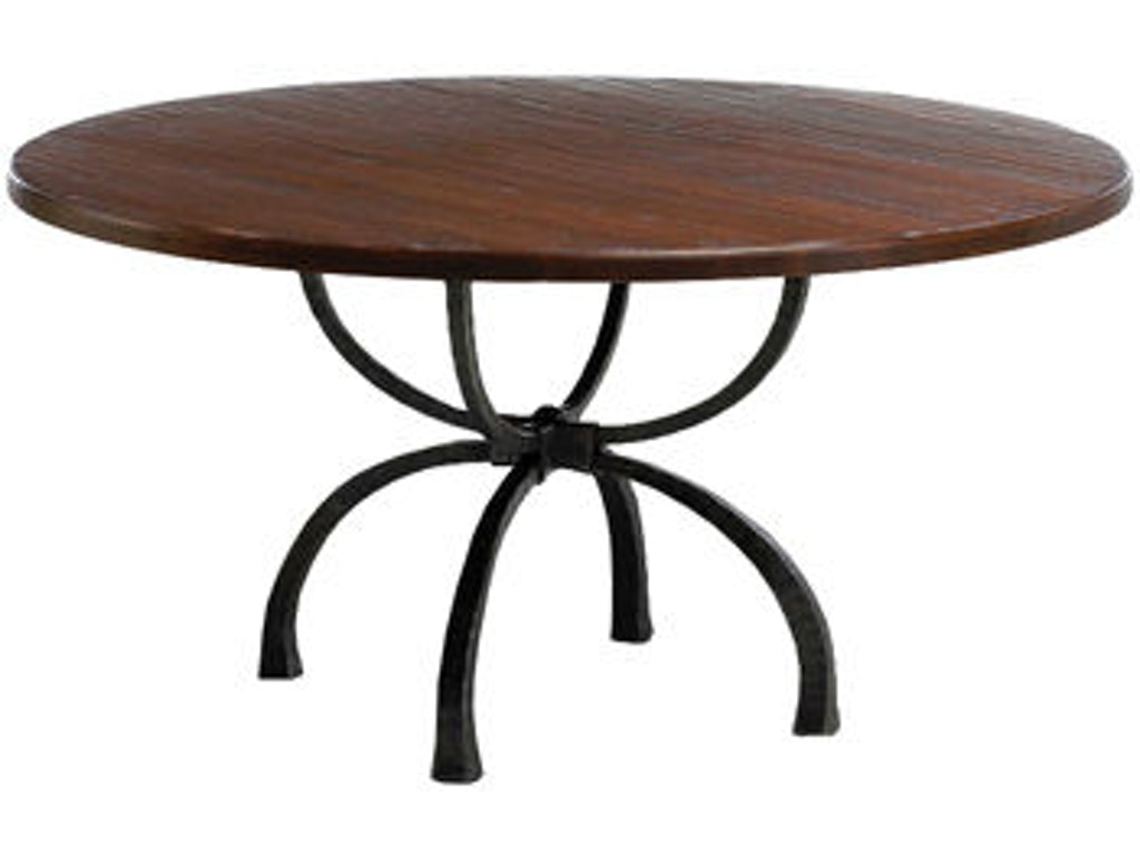 Charleston Forge Dining Room 60 Round Dining Table CHT105 Walter E. Smithe  Furniture + Design