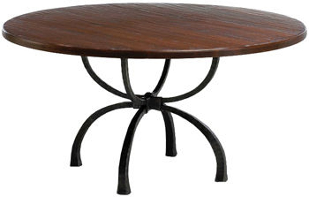 Charleston Forge T105 Dining Room Legacy Round Dining Table
