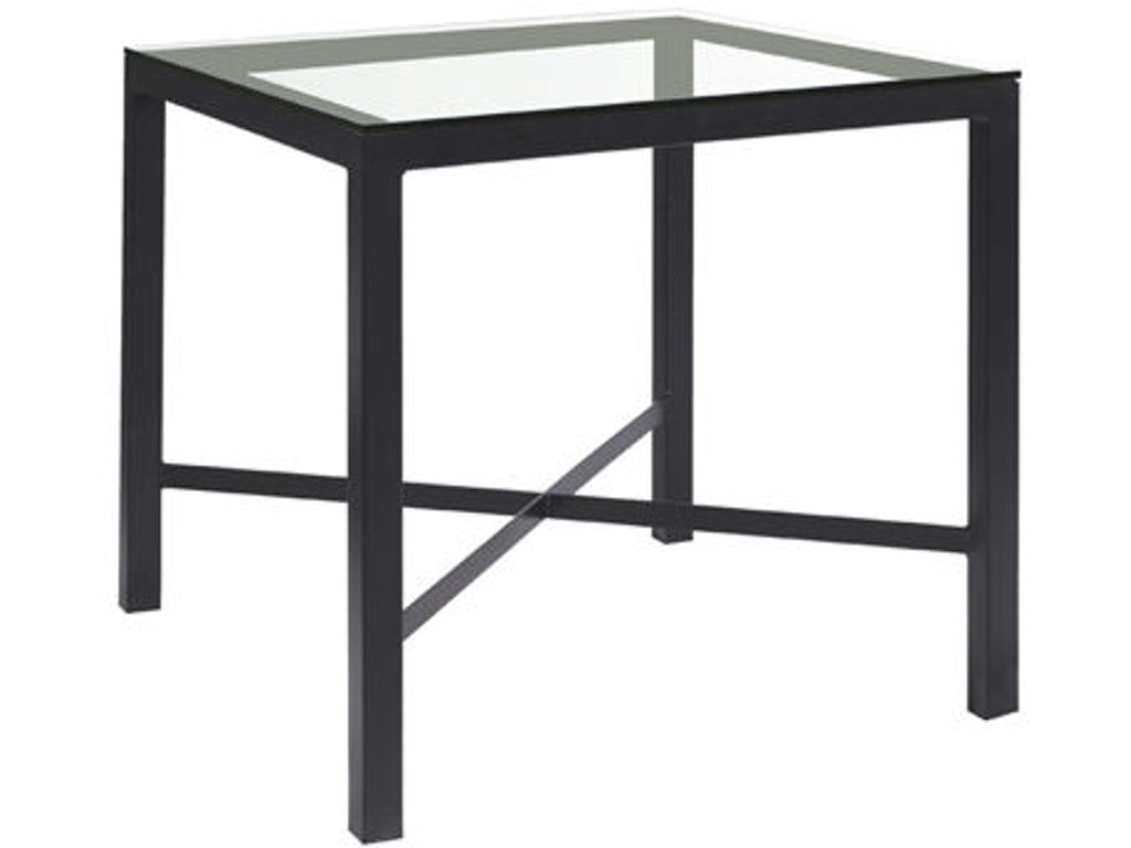 Charleston Forge Bar And Room Square Counter Height Pub Table Cht399 Walter E Smithe Furniture Design