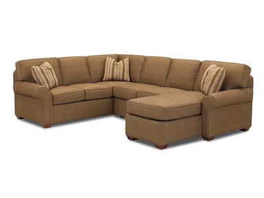 Klaussner Patterns Fabric Sectional 19000-FAB-SECT
