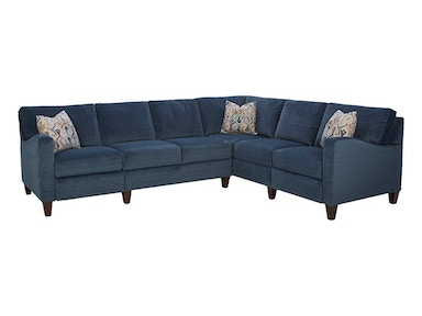 Klaussner Colleen Sectional 19303 Sectional