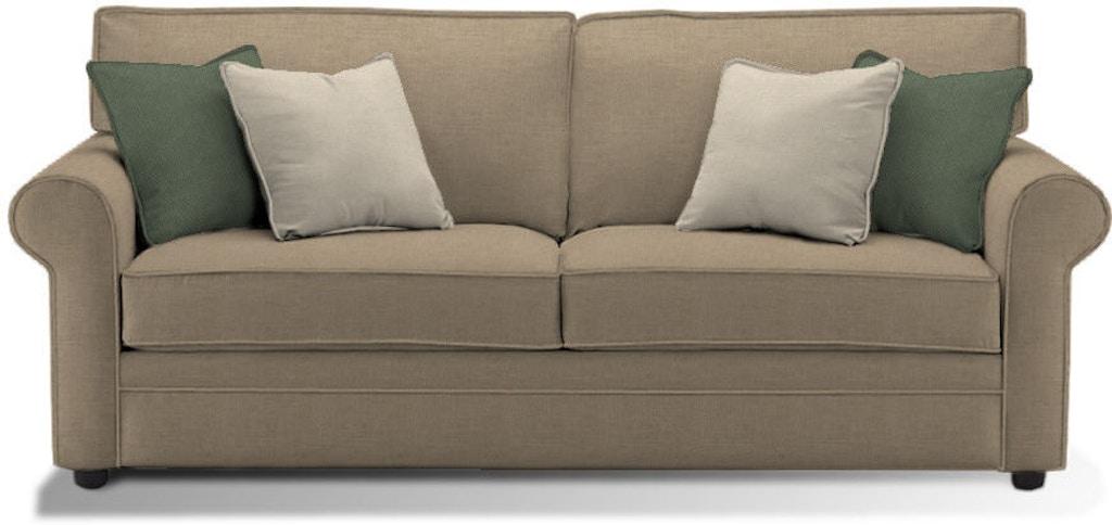 Klaussner Living Room Comfy Enso Queen Sleeper 36300 Eqsl