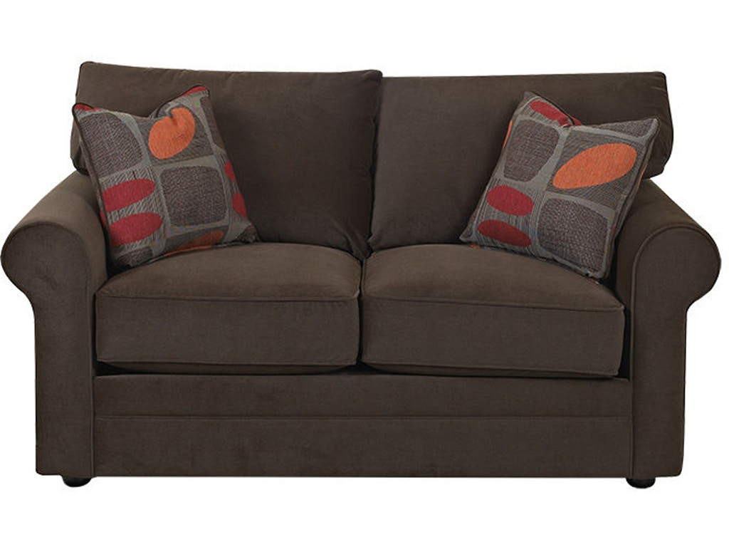 Klaussner Living Room Comfy Loveseat 36300 Ls Sofas Unlimited Mechanicsburg And Harrisburg Pa