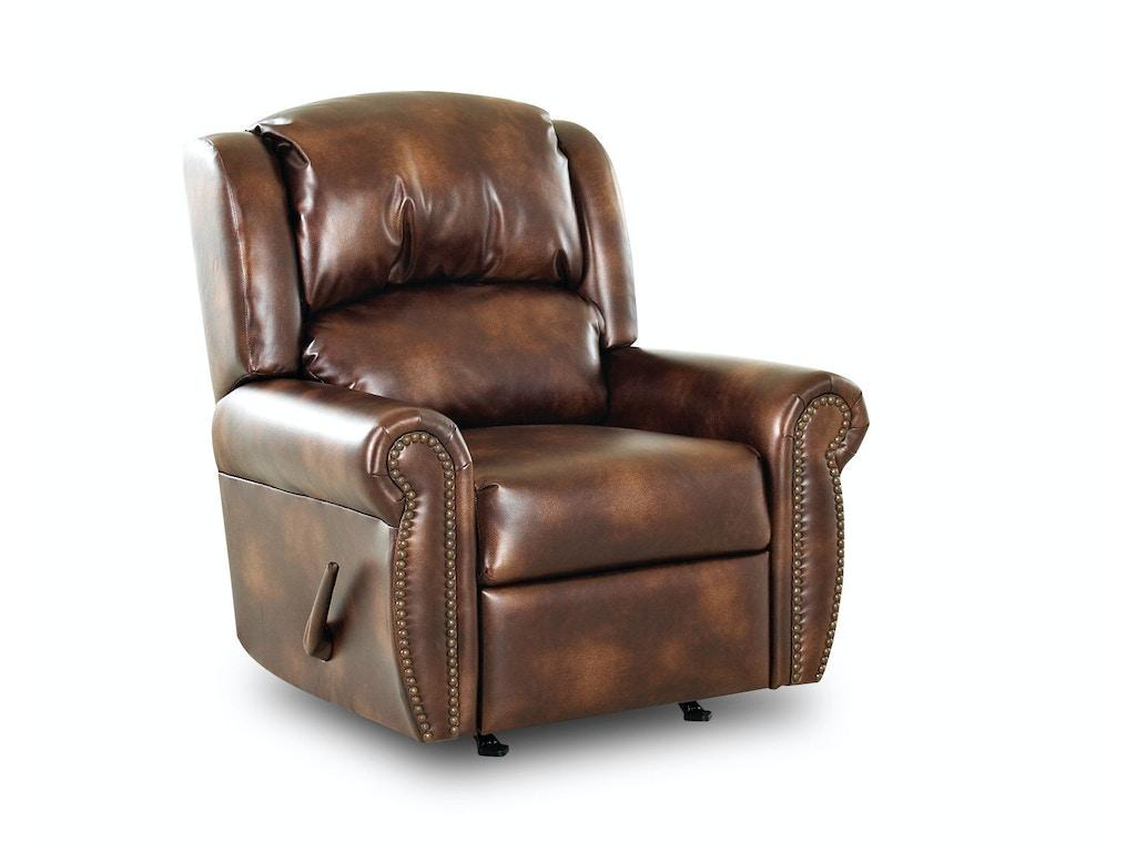 klaussner living room mcalister rocker recliner 32413h rrc goldsteins furniture bedding. Black Bedroom Furniture Sets. Home Design Ideas