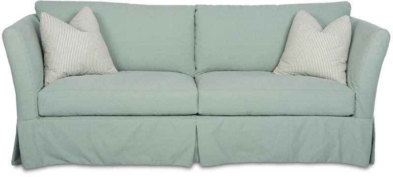 Furniture Slipcovers Klaussner Home Furnishings Asheboro  ~ Turquoise Slipcover Sofa
