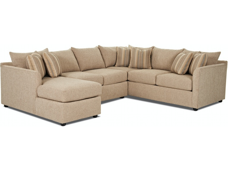 Klaussner Living Room Atlanta Sectional