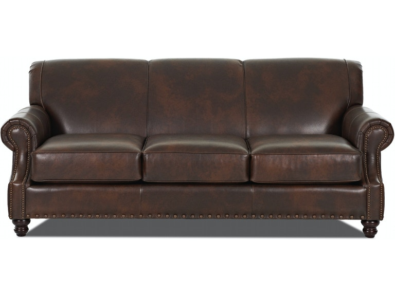 Simple Elegance Fremont Leather Sofa 567890